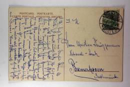 Germany: Elsas/Elzas German Occupation Postkarte Mulhausen To Bremerhaven, 1909
