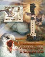 MOZAMBIQUE 2012 - Lighthouses, Birds S/S. Official Issue - Vuurtorens