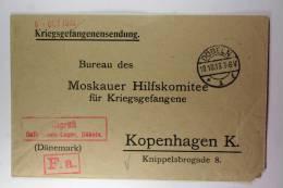 Germany: Prisoner Of War Letter To Moskauer Hilfskomitee Für Kriegsgefangene, 1916 - Briefe U. Dokumente