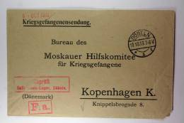 Germany: Prisoner Of War Letter To Moskauer Hilfskomitee Für Kriegsgefangene, 1916