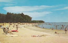 Beach At Oka Provincial Park, County Of Deux-Montagnes, Quebec, Canada, PU-1988 - Quebec