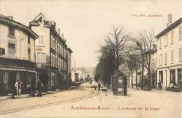 AMBERIEU-EN-BUGEY L'AVENUE DE LA GARE 01 AIN - France