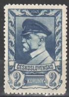 Czechoslovakia 1945 - Mi. 438 - MNH (**). - Tchécoslovaquie
