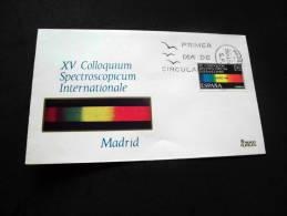 1969 Sobre De Primer Día De Circulación  XV Coloquium Spectroscopium Internationale  SC/UNC - FDC