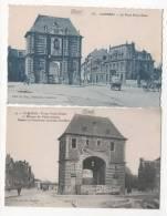 CAMBRAI - Porte Notre Dame - 2 CPA - Cambrai