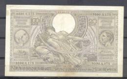 Belg 100 Fr  04 09 1942 Vlaams Flemish - [ 2] 1831-... : Belgian Kingdom