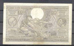 Belg 100 Fr  04 09 1942 Vlaams Flemish - [ 2] 1831-... : Regno Del Belgio