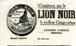 Cirage Lion Noir - Buvards, Protège-cahiers Illustrés