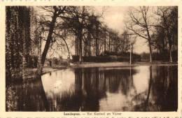 BELGIQUE - FLANDRE ORIENTALE - NEVELE - LANDEGEM - Het Kasteel En Vijver. - Nevele