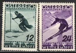 AUSTRIA - WORLD SKIING CHAMPIONSHIPS IN INNSBRUK  - MNH ** - 1936