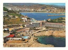 Cp, Espagne, San Fellu De Guixols, Hotel Piscina En Port Slvi, écrite - Gerona