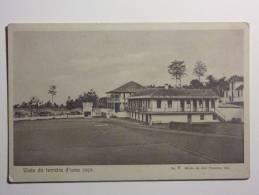 B4346 * S. TOMÉ E PRINCIPE. Terreiro De Uma Roça. - Sao Tome Et Principe