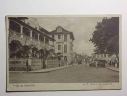 B4347 * S. TOMÉ E PRINCIPE. Cidade De S. Tomé. Praça Da República - Sao Tome Et Principe