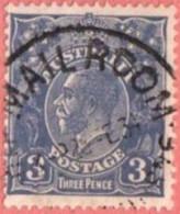 """AUS SC #72  1927 King George V  (""""MAIL ROOM / 28 FE 34"""")"""