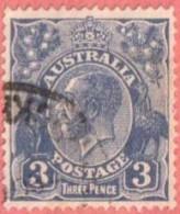 AUS SC #72  1929 King George V, CV $5.50 - 1913-36 George V: Heads