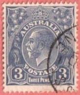 AUS SC #72  1929 King George V, CV $5.50 - Usati