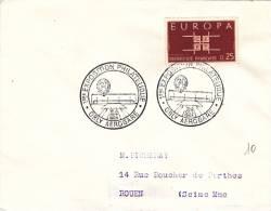Orly Aérogare 1963 - BT Exposition Philatélique - Aéroport - Marcophilie (Lettres)