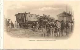 Cpa Thouars Deraillement Du 2 Novembre 1899 - Thouars