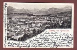 06482 - LUZERN Vom Gutsch Aus - 1902 - Verlag Schlumpf Winterthur - LU Lucerne