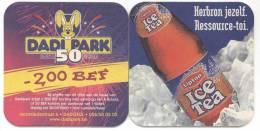 Lipton. Ice Tea. Dadi Park 1950 - 2000, Moorsledestraat 6, Dadizele. Herbron Jezelf. Ressource-toi. - 2,00 BEF, Korting. - Beer Mats