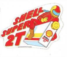 Shell Super 2T - Autocollants