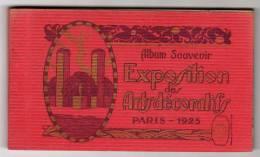 75 : Paris : Exposition Des Arts Décoratifs 1925  :  Carnet De 20 Cartes - Expositions