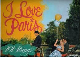 101 STRINGS  * I  LOVE  PARIS  * - Instrumental