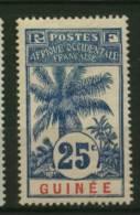 Guinée  Ballay  Faidherbe  Palmier  N° 39  Neuf *  Cote Y&T  8,00  €uro  Au Quart De Cote
