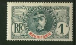 Mauritanie  Ballay  Faidherbe  Palmier  N° 1  Neuf *  Cote Y&T  1,00  €uro  Au Quart De Cote