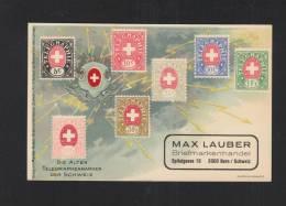 Schweiz AK Telegraphenmarken - Timbres (représentations)