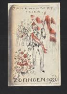 AK Jahrhundertfeier Zofingen 1920 - AG Argovia