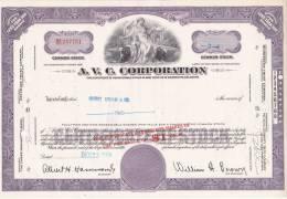Bonds/Shares:1963 A.V.C. Corporation, Value: Shares 2 (A 330a) - Shareholdings