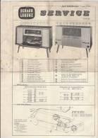PO8137B# FOGLIO ISTRUZIONI - RADIO VALVOLE - BALI 800 STEREO SCHAUB LORENZ - Apparatus