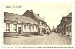 SPIERRE-HELKIJN - Helchin - Rue De L´ Eglise - Kerkstraat - Uitg. Vandenbroucke-Boonaert - Espierres-Helchin - Spiere-Helkijn