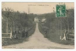 27 - St-Just        L'Avenue Du Château - France