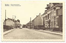 SPIERRE-HELKIJN - Helchin - Place Communale - Gemeenteplaats - Uitg. Vandenbroucke-Boonaert - Espierres-Helchin - Spiere-Helkijn