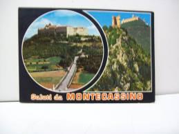"""Saluti Da Montecassino  FR  """"Lazio""""  (Italia) - Frosinone"""