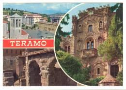 E2199 Teramo - Panorama - Multipla / Viaggiata 1981 - Teramo