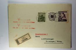 Germany: Cover Registered To Trossingen Stempel: Viktoria !! Deutschland Siegt An Alle Fronten Für Europa (in Tjech+Germ
