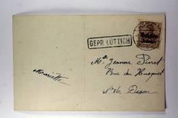 Germany: Censorcancel Luttich / Luik