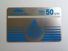 THAILAND - L&G - Silver Test - Specimen - 50 Baht - RARE - Thaïlande