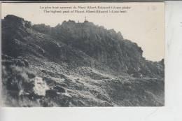 PAPUA NEW GUINEA - Mount Albert-Edward - Papua-Neuguinea