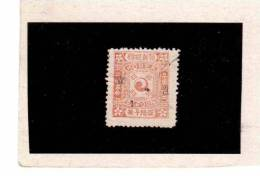XX3882  -  KOREA ( KAISERREICH  KOREA - DAE HAN  )  -   Used     MICHEL NR.  12   -    25  P   Dunkellilarot - Corea (...-1945)