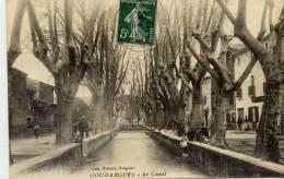 CPA 30 GOUDARGUES LE CANAL EDITION PREVOT - Francia