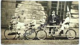 Photo Cyclisme Vélo Jouet Poupée Clown Bike Toys Fahrrad 1930 - Cyclisme