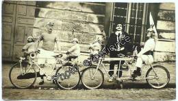 Photo Cyclisme Vélo Jouet Poupée Clown Bike Toys Fahrrad 1930 - Wielrennen