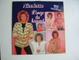 "MAXI - NICOLETTA  "" L´ANGE DU HASARD ""  + 1 ( échantillon - Hors Commerce ) - 45 T - Maxi-Single"