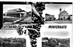 CASTAGNOLE MONFERRATO (AT) - VEDUTINE - F/G - V:1969 - Asti