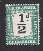 South Africa, Scott #J17, Mint Hinged, Postage Due, Issued 1927 - Postage Due