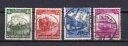 ALLEMAGNE     Oblitéré    Y. Et T.  N° 539 / 542     Cote: 8,00 Euros - Germany